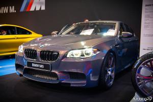Poznań Motor Show 2015 - klasyka BMW M5
