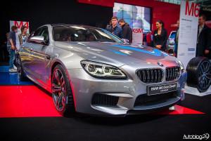 Poznań Motor Show 2015 - piękne BMW M6 Gran Coupe Individual