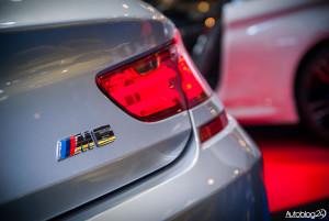 Poznań Motor Show 2015 - logo BMW M6 Gran Coupe
