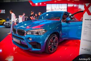 Poznań Motor Show 2015 - premiera nowego BMW X6 M