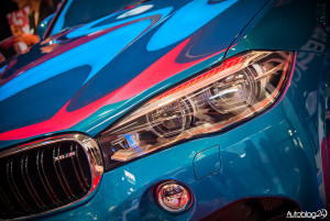 Poznań Motor Show 2015 - światła w nowym BMW X6 M