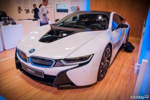 Poznań Motor Show 2015 - sportowe BMW i8