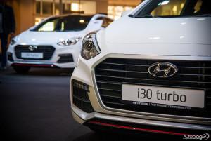 Hyundai i30 Turbo - grill