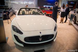 Stoisko Maserati na Poznań Motor Show 2015
