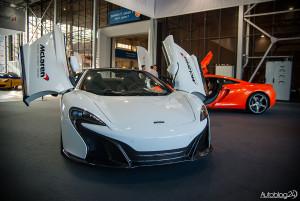 Stoisko McLarena na Poznań Motor Show 2015