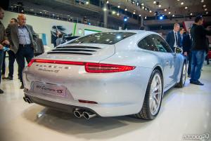 Porsche 911 Carrera 4S na Poznań Motor Show 2015
