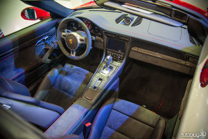 Wnętrze Porsche 911 Targa