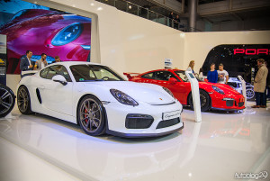 Porsche Cayman GTS na Poznań Motor Show 2015