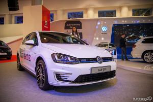 Na targach motoryzacyjnych w Poznaniu pokazany został Volkswagen Golf GTE