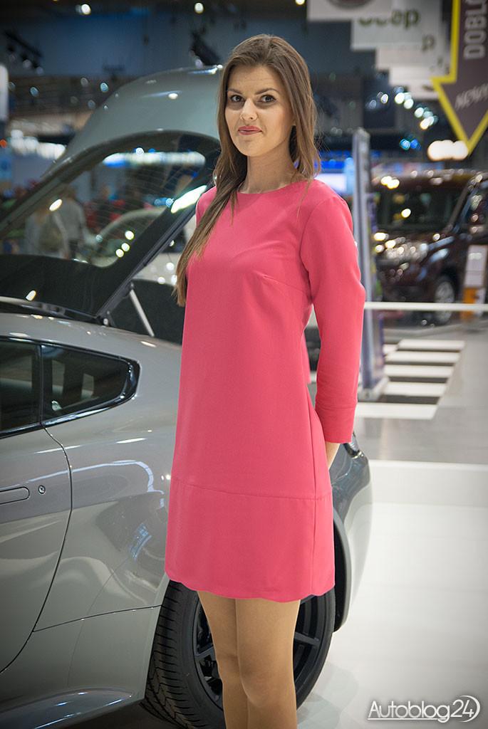 Poznań Motor Show hostessy - stoisko Aston Martin