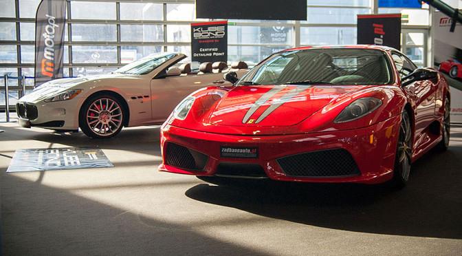 Sportowe samochody na Poznań Motor Show 2015 – zdjęcia