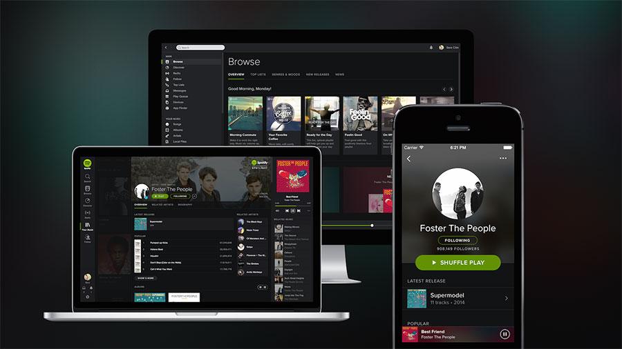 Spotify - usługa streamingu muzyki