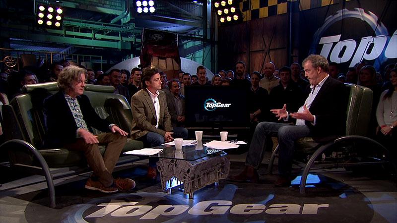 Przegląd aktualnosci w studiu Top Gear to stały element programu
