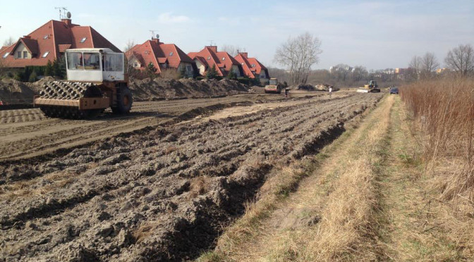 Ulica Nowokabacka – jej budowa właśnie się rozpoczęła, a ja nie wiem, czy jest to dobra wiadomość dla mieszkańców Ursynowa
