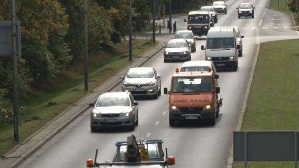 Korki w Warszawie utrudniają korzystanie z tempomatu