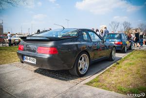 Youngtimer Warsaw 2015 - rozpoczęcie sezonu - 06 - bardzo dobrze zachowane Porsche 928