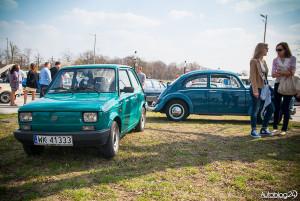 Youngtimer Warsaw 2015 - rozpoczęcie sezonu - 08 - polski akcent Fiat 126P