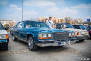 Youngtimer Warsaw 2015 - rozpoczęcie sezonu - 14 - Cadillac wśród klasyków