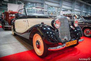 Auto Nostalgia 2015 - 05 - klasyczny, przedwojenny Mercedes