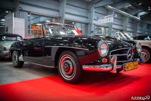 Auto Nostalgia 2015 - 10 - oryginalny Mercedes SL