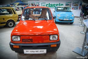 Auto Nostalgia 2015 - 12 - Mały Fiat stary i nowy