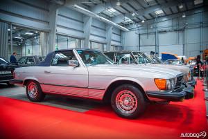 Auto Nostalgia 2015 - 17 - klasyczny kabriolet Mercedesa