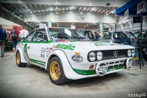 Auto Nostalgia 2015 - 18 - rajdowy samochód Lancia