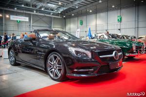 Auto Nostalgia 2015 - 20 - nowy i luksusowy Mercedes SL