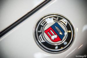 Auto Nostalgia 2015 - 24 - logo Alpina - tunera BMW