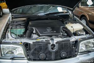 Auto Nostalgia 2015 - 26 - mocny silnik Mercedes AMG