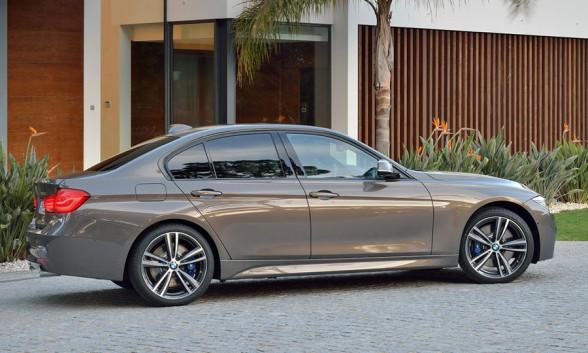 Bok BMW Serii 3 (F30) po liftingu