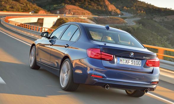Tył BMW Serii 3 (F30) - lifting
