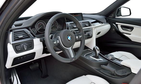 Wnętrze nowego BMW Serii 3 (F30) po liftingu