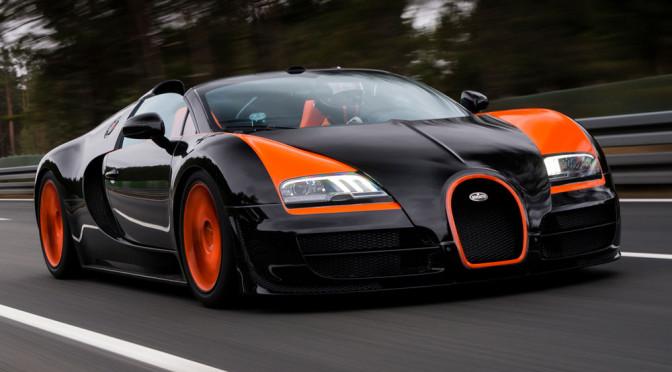 """Bugatti Veyron - prawdziwy """"jedyny taki samochód"""" na OtoMoto"""