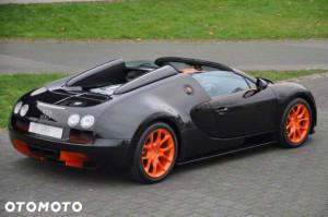 Bugatti Veyron Grand Sport - sportowy tył