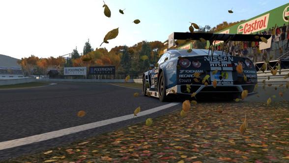Wyścigowy Nissan GT-R w Gran Turismo