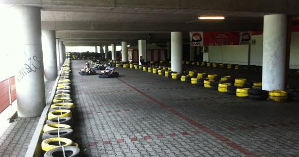 Karting - wyścig na torze