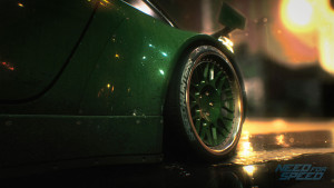 Duża felga w Porsche w Need for Speed 2015