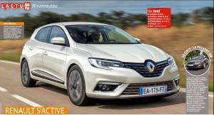 Wizja przodu nowego Renault Megane IV (2016)