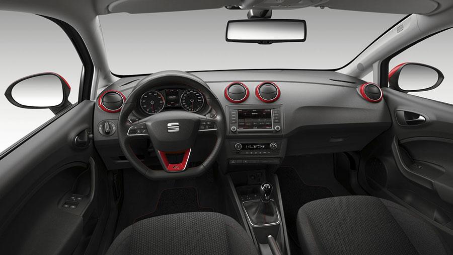 W superbly Seat Ibiza IV lifting - wnętrze - Autoblog24 LW11
