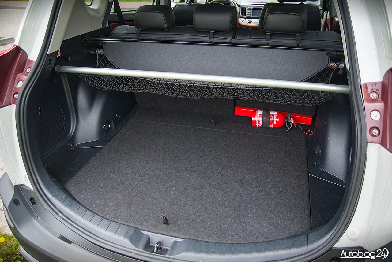 Toyota Rav4 Elektrycznie Podnoszona Klapa Bagażnika Wideo