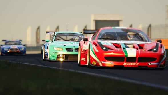 Wyścig w Assetto Corsa
