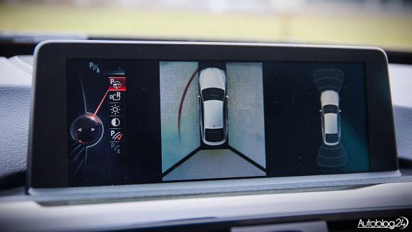 BMW 3GT - zaawansowane czujniki parkowania