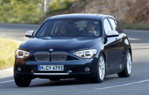 Przód standardowej wersji BMW Serii 1 (F20)