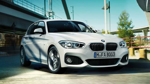 BMW Seria 1 - przód po faceliftingu