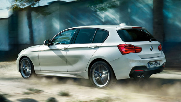 BMW Seria 1 - tył po faceliftingu