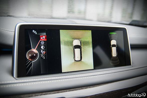 Kamera 360 stopni w BMW X5