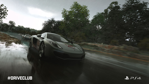 McLaren w DriveClub
