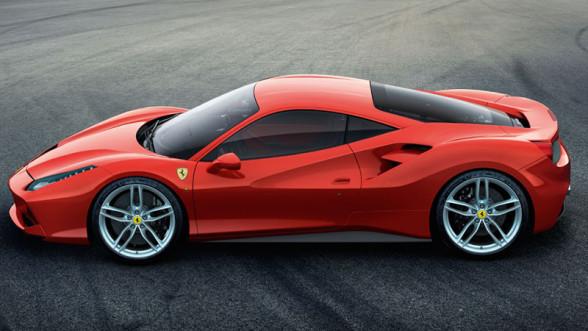 Bok Ferrari 488 GTB