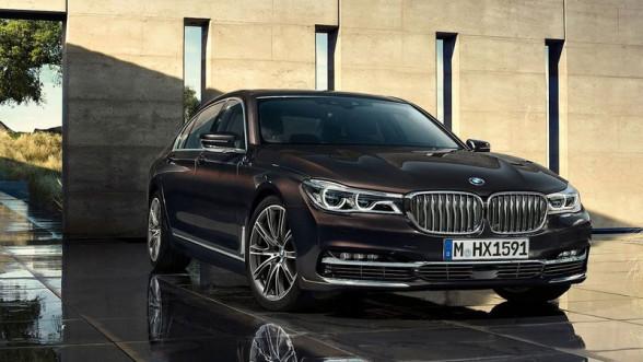 Nowa generacja - BMW Seria 7. Widok z przodu